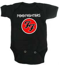 Foo Fighters Band Logo Baby Cotton Onesie Cute Rock Grunge Bodysuit Gift Romper