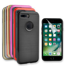 Anti-Shock Hard Back Rim Hybrid Armor Case Cover For iPhone 7/iPhone 7 Plus