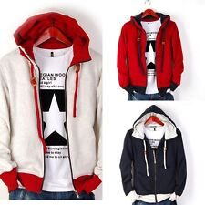 Hot Men's Casual Fashion Slim Fit Sexy Designed Hoodies Sweats Jackets Coats 3N