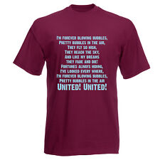 I'm Forever Blowing Bubbles T-Shirt (West Ham), Premium Gildan