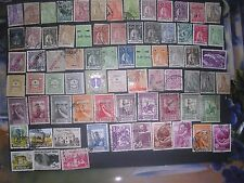 Small lot of used and  unused vintage stamps from Angola