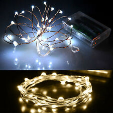 20 LED String Fairy Light Battery Christmas Lights Party Wedding Decor Xmas Gift