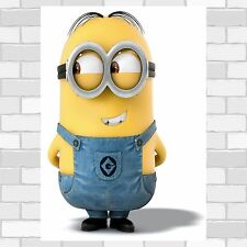 Funny Minion Pose poster print wall art  wall decor