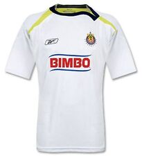 "CHIVAS DE GUADALAJARA 2007 AUTHENTIC SUPPORTER AWAY RBK JERSEY NWT ""XL & XXL"""