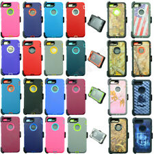 For Apple iPhone 7/ 7 Plus Case Cover (Belt Clip fits Otterbox Defender series)