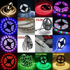 5M 150/300/600LEDs 3528 5050 5630 3014 SMD LED Flexible Strip Lamp Ultra Bright