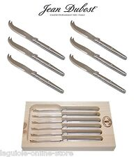 Laguiole Dubost - Cheese Knives in ALL STAINLESS STEEL (for 4-6-8-10-12 people)