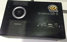 Olympus OM-D E-M10 16.1 MP Digital SLR Camera Black with  Gripp ECG-1