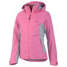 adidas Adidas Outdoor Womens 3in1 Down Wandertag Hiking Jacket (Semi Solar Pink