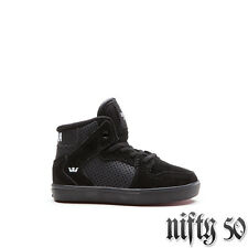 SUPRA TODDLER VAIDER HIGH TOP - BLACK/WHITE-PAINT DRIP