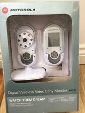 Motorola MBP20 Digital Wireless Video Baby Monitor Infrared Night Vision