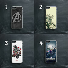 AVENGERS MARVEL COMIC SUPERHEROES IRONMAN HULK THOR PHONE CASE COVER FOR IPHONE