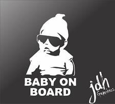 Baby On Board Hangover Vinyl Decal Car Sticker Pregnant Mom Cute Funny Infant