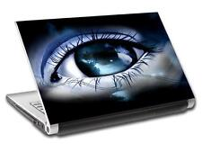 Abstract Eye Personalized LAPTOP Skin Vinyl Decal Sticker WITH YOUR NAME L13