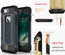 Armor Heavy Duty Shockproof Hybrid Silicone Tough Case Cover for iPhone 7 7 Plus