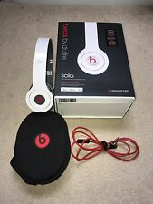 New White Beats By Dr.dre Monster Solo HD Headphones