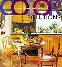 Color Solutions (Better Homes & Gardens) Better Homes and Gardens Books Hardcov