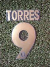Torres Champions League Chelsea Football Soccer No 9 PU Vinyl Name & Number set