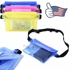 Waterproof Bag Underwater Dry Pouch Waist Pack Swimming Dry Case For Cell Phones