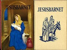 Vintage Ladybird Book in Swedish with dustjacket - JESUSBARNET superb condition