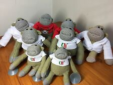 PG TIPS ADVERT CHIMP MONKEY SMALL SOFT TOY SET / BUNDLE / JOB LOT X 8
