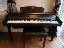 Yamaha Clavinova cvp 407 Rosewood Immaculate Condition c/w matching stool