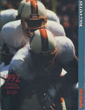 1992 Tampa Bay Buccaneers Yearbook
