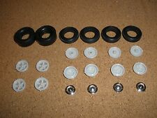 AMT 1/25 1962 CHEVY BEL AIR 409 WHEELS AND TIRES