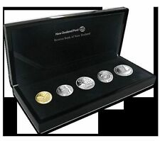 2012 NZ SILVER PROOF CURRENCY COIN SET,  RRP $260 RARE!!