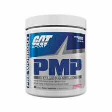 GAT PMP Peak Muscle Performance Pre-Workout Powder 30 Servings Variety Flavor