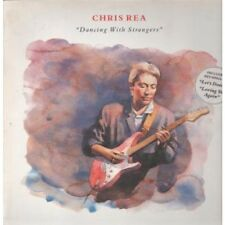 CHRIS REA Dancing With Strangers LP VINYL 11 Track Info Stickered Sleeve With