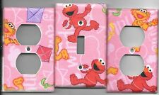 Elmo Light Switch Cover and Electrical Outlet Plates