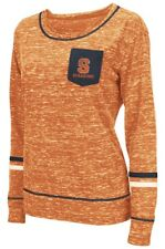 "Syracuse Orange Women's NCAA ""Homies"" Long Sleeve Pocket Shirt"