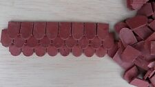 1/12th  Dolls House 'Beaumont' range Rounded Shaped Roof Tiles  Packet of 250