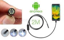 Waterproof Spy 7.0 mm camera LED Endoscope inspection for Android Note 5 S7 edge