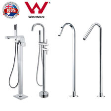 Watermark Free Standing Bath Spout Mixer Tap Tall Water Shower Handheld Faucets