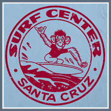 Santa Cruz Surf T SHIRT vintage California design S M L XL 2X Surfing Monkey Tee