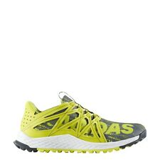 Men's Adidas Vigor Bounce Grey Yellow Running Athletic Trail Shoe AQ7510 Sz 9-15