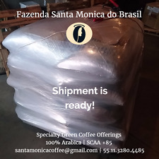 15/16 Specialty Green Coffee Beans by Fazenda Santa Monica Brazil Unroasted