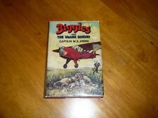 BIGGLES AND THE BLACK RAIDER W.E. JOHNS, WITH DUST JACKET, 1ST EDITION, 1953
