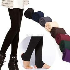 Women Stretchy Winter Thick Warm Leggings Fleece Lined Thermal Slim Skinny Pants