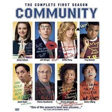 COMMUNITY Complete First Season 1 DVD TV Show Chevy Chase Joel McHale