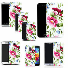 motif case cover for many Mobile phones - green flower