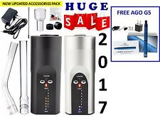 2017 NEW ARIZER SOLO PORTABLE - BLACK and SILVER + FREE 2-DAY SHIPPING + AGO G5