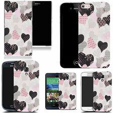 motif case cover for various Popular Mobile phones - dainty heart