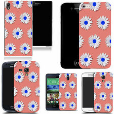 gel rubber case cover for  Mobile phones - mass daisy silicone