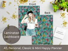 Little Fairy - Laminated Dashboard - Happy Planner, Filofax A5 or Personal size
