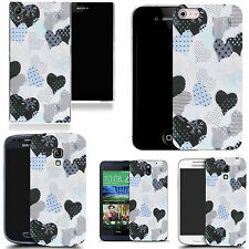 motif case cover for various Popular Mobile phones - delicate heart