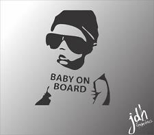 Baby On Board Hangover 2 Vinyl Decal Car Sticker Pregnant Mom Cute Funny Infant
