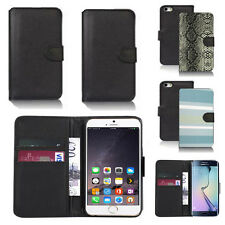 pu leather wallet case cover for apple iphone models design ref q111